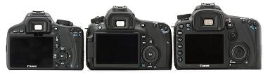 Achterzijde Canon EOS 60D