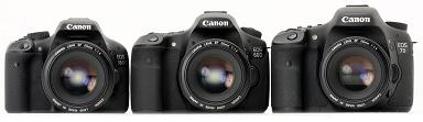 Voorzijde Canon EOS 60D